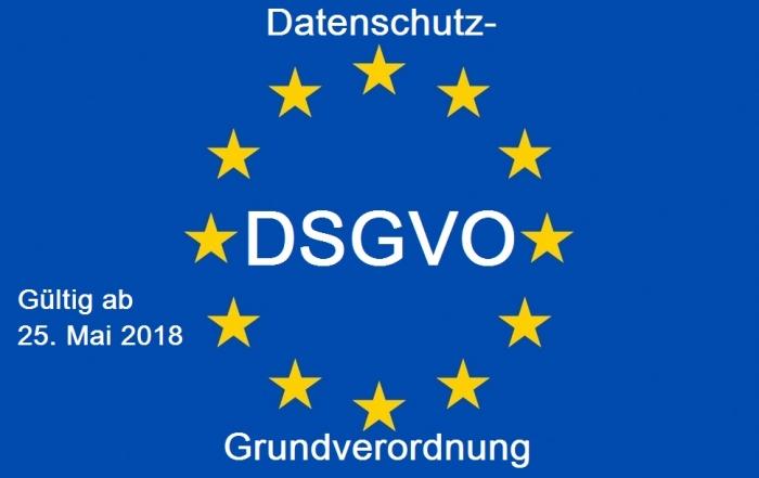 Informationen zur Datenschutz-Grundverordnung