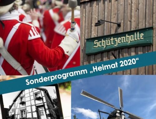 "Sonderprogramm ""Heimat 2020"""